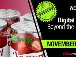 Mark Andy WEBINAR: Digital PRO – Beyond the label. November 20th