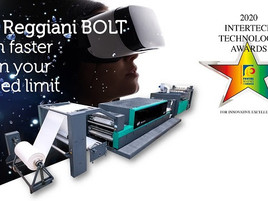 EFI Reggiani BOLT has received the 2020 InterTech™ Technology Award from PRINTING United Alliance