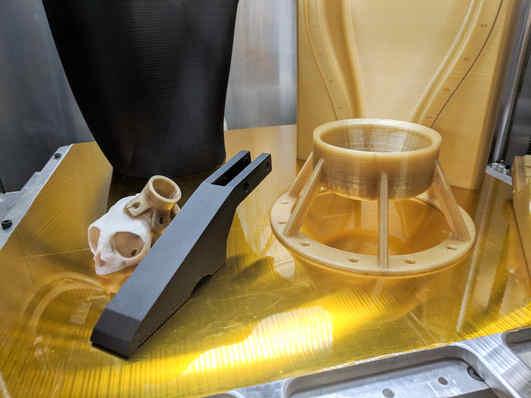 Carbon Fiber PEKK PEKK (amber)