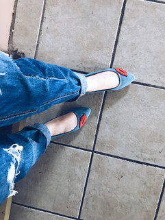 FLATS AND JEANS