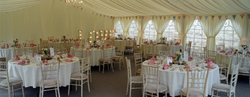 Inside the Lakeside Marquee