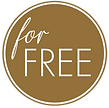 Sisterly for free button gold mit weiß r