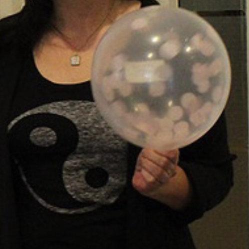 "Balloon-confetti ""cells"""