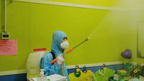 Kindergarten Disinfection