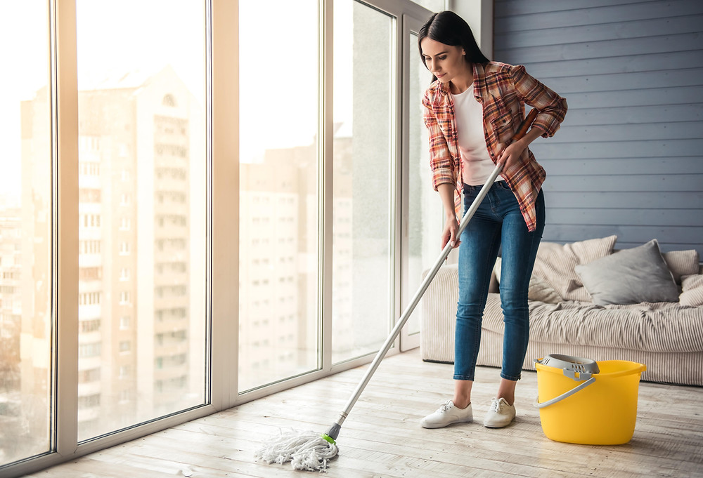 Floor cleaning and mopping