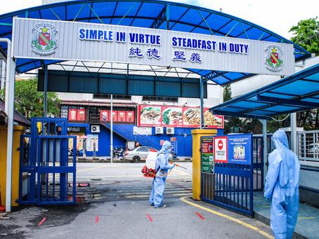 Disinfection Service for School in Melaka