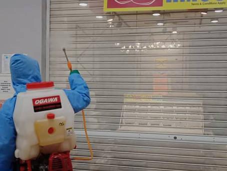 Shop Disinfection
