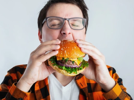 Eating too fast can harm to your health