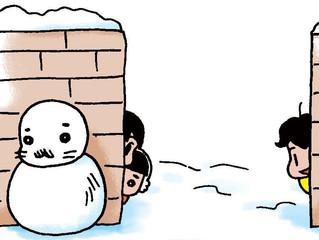 雪とゴマちゃん