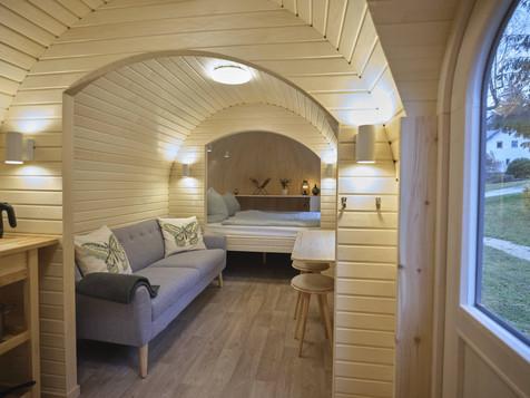Iglu Hut - Wohnzimmer