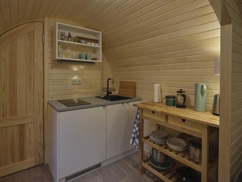 Iglu Hut - Küche