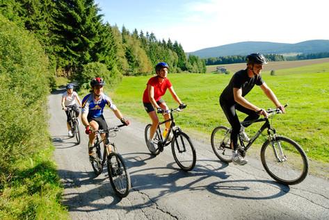 Radfahrwege und E-bikes