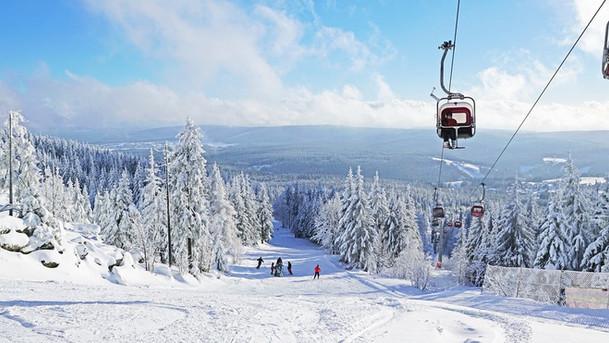 Skifahren am Ochsenkopf