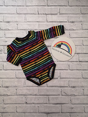 Grunge Rainbow Bodysuit
