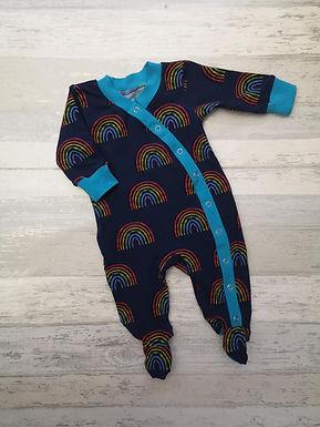 Rainbow Blues Babygrow