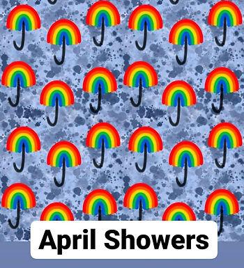 April Showers Babygrow