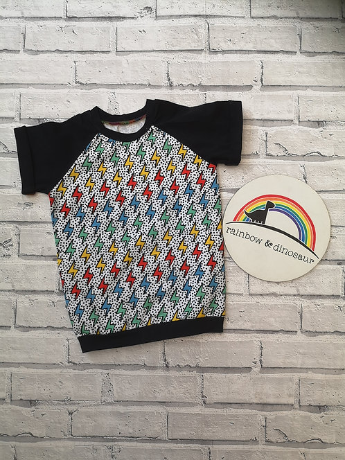 Rainbow Lightening T-shirt