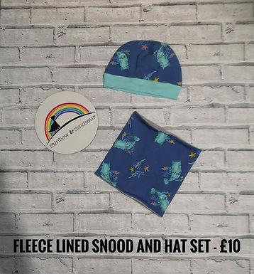 Fleece Hat and Snood - ATH Market Night