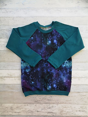 Galaxy Raglan Tshirt