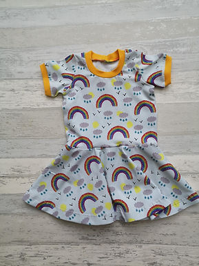 Sunshine and Showers Twirly Dress