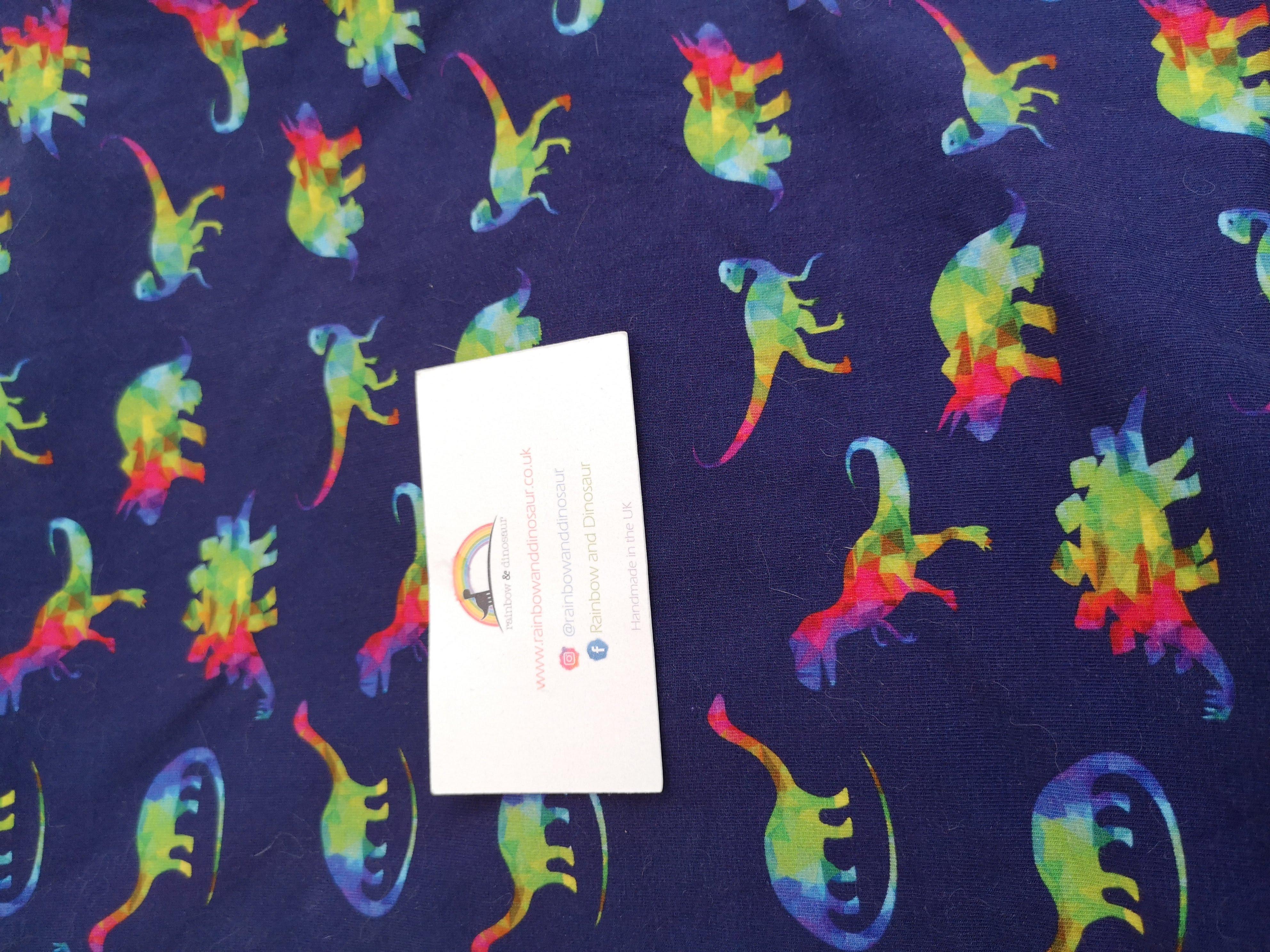Rainbow Geo Dino