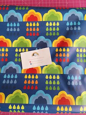 Colourful rain Coat