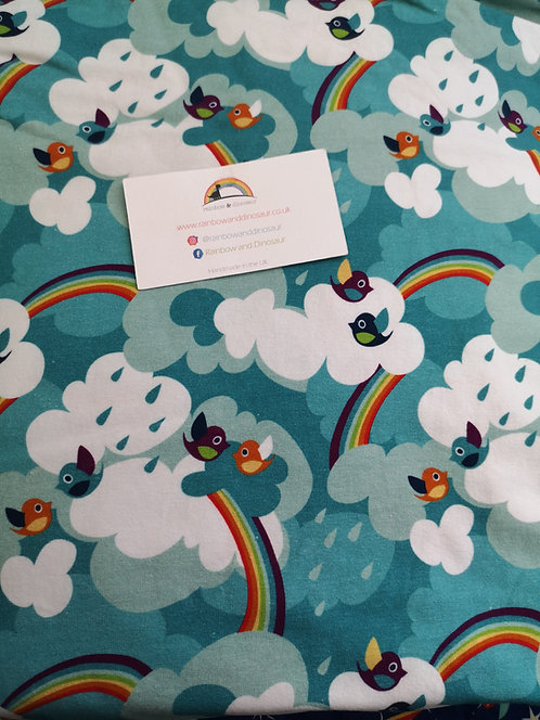 Rainbow Tweet Twirly Skirt