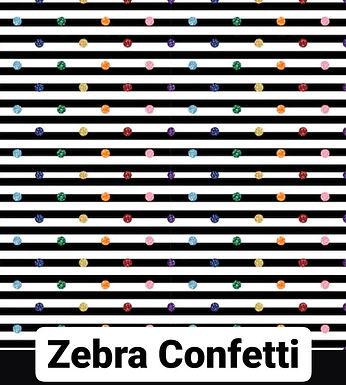 Zebra Confetti Coat