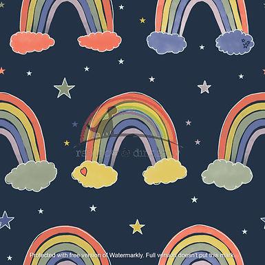 Dreamy Rainbows A-line dress