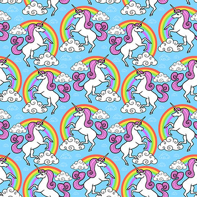 Unicorn Skies Twirly Dress