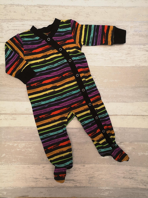 Grunge Rainbow Babygrow