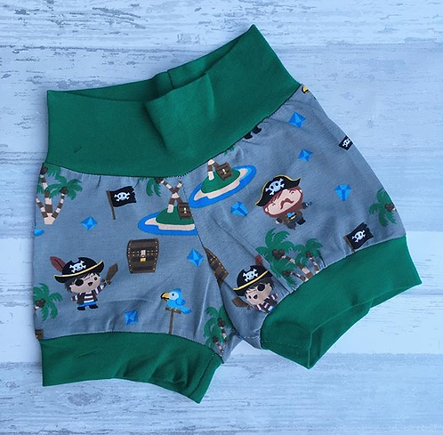 0-3 Pirate Shorts