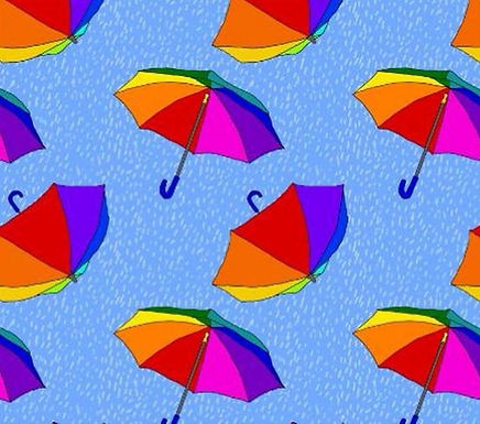 Rainbrella Babygrow