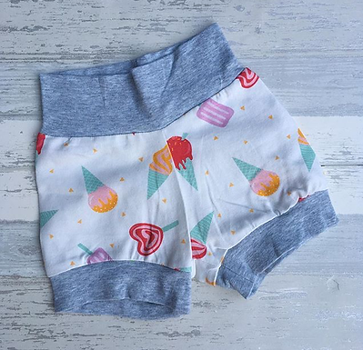 3-6 Ice Cream Shorts