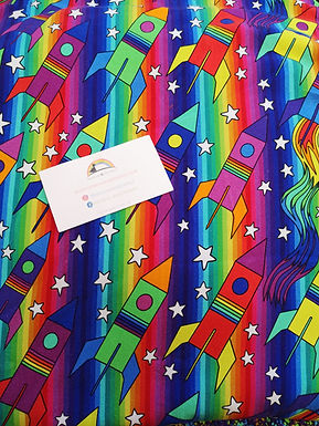 Rainbow Rockets Twirly dress
