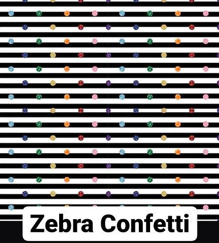 Zebra Confetti Babygrow