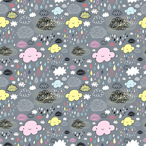 Clouds and Friends Babygrow
