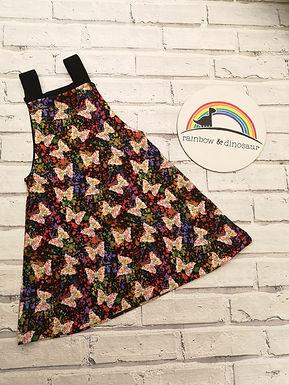 Splatterfly Dungaree dress