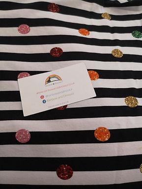 Zebra Confetti