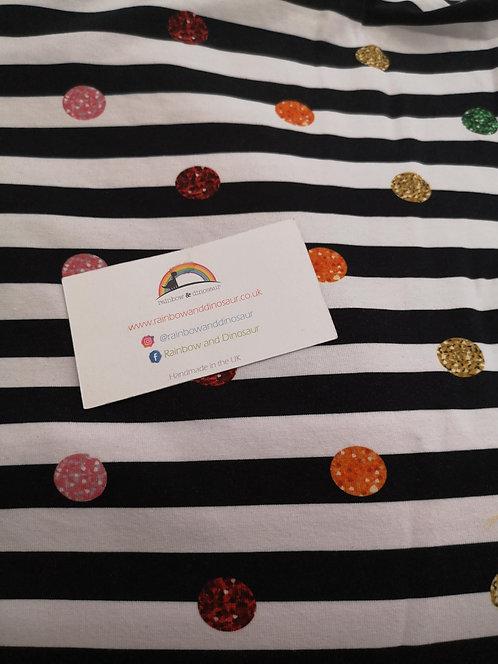 Zebra Confetti Twirly Skirt
