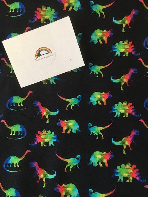 Rainbow Geo Dino Coat