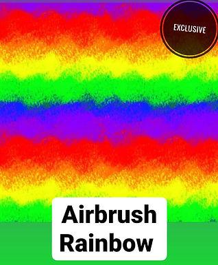 Airbrush Rainbow Babygrow