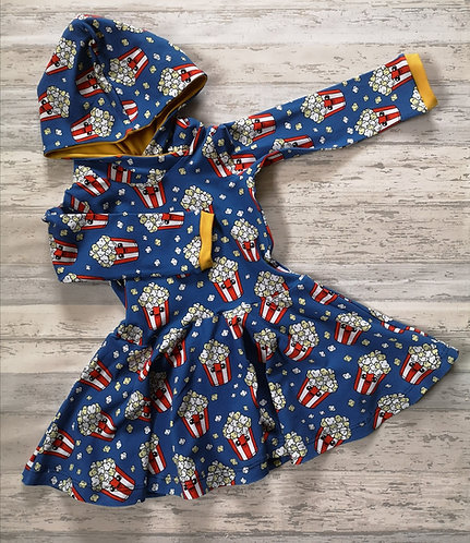 Movie Night Twirly Dress