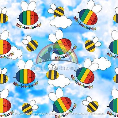 Mis-Bee-Havin' Twirly Dress