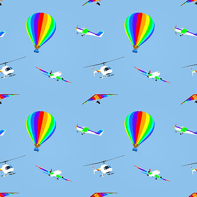 Rainbow Sky Babygrow