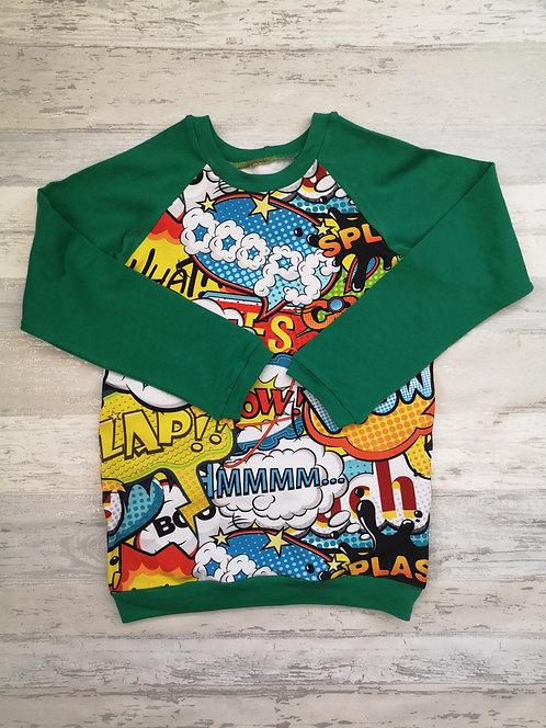 Comic Raglan Tshirt