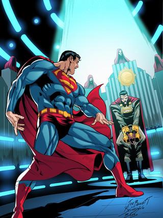 0Adv Superman Cover-inks BBrabo_Cor_Cabr
