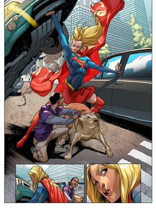 supergirl__15_page_2__sample__by_quepler