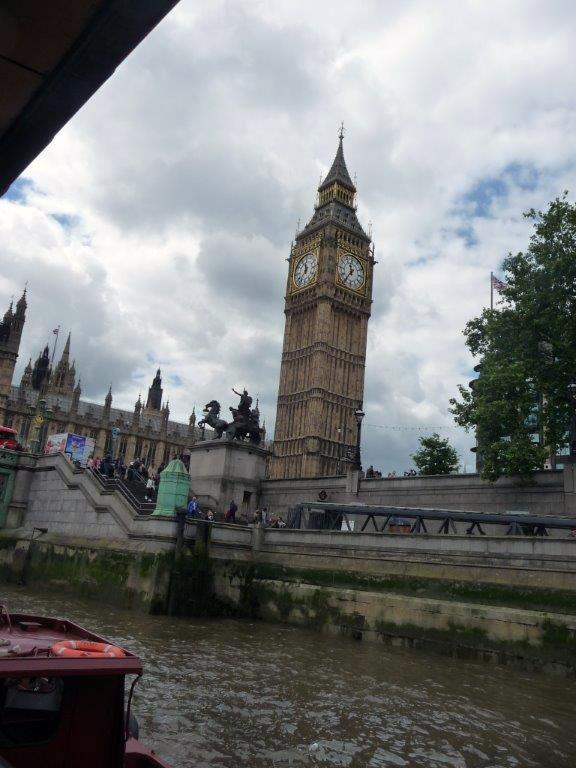 27 Big Ben vu du bateau