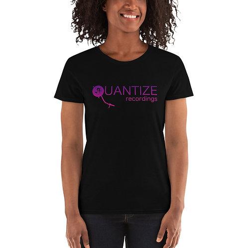 Quantize Purple Logo Women's short sleeve t-shirt